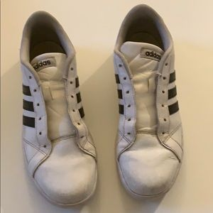 adidas Shoes - Adidas Classic Grand Court Sneakers Boys Size 6